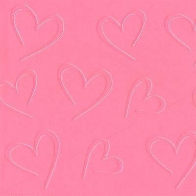 Impression Mat Open Hearts