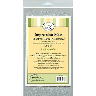 Impression Mat Xmas Borders