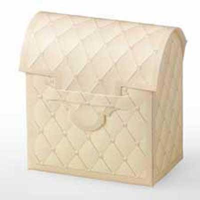 Ivory Chest Favor Box 20 PK