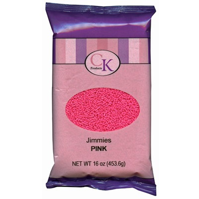 Jimmies 16 OZ Pink