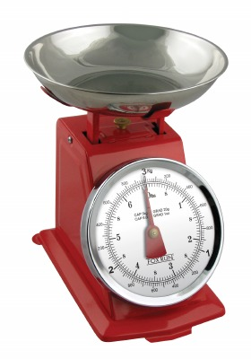 Kitchen Scale Red