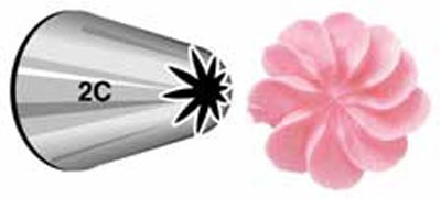 Large Drop Flower Tip #2C