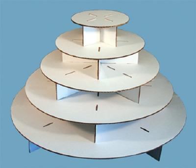 Large Round Cupcake Stand