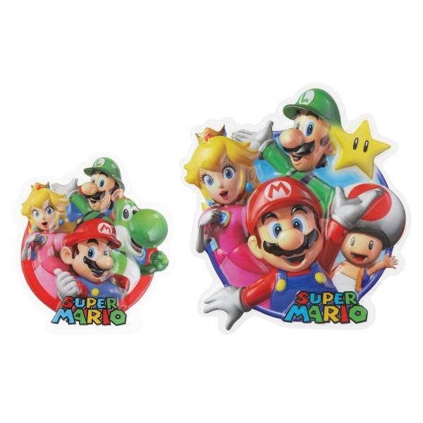 Super Mario Bros Pop Top Cake Art