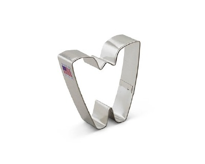 "3"" Cookie Cutter Letter W"