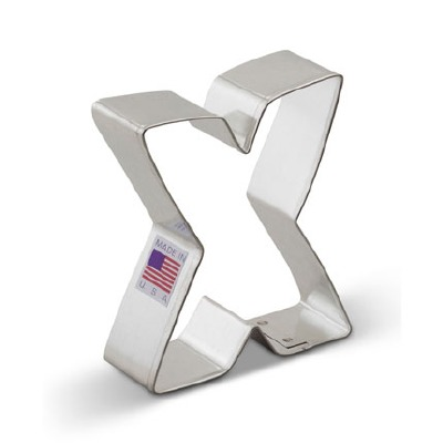 """3"""" Cookie Cutter Letter X"""