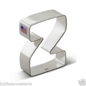 """3"""" Cookie Cutter Letter Z"""