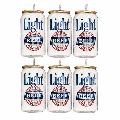 Light Beer Candles 6 CT