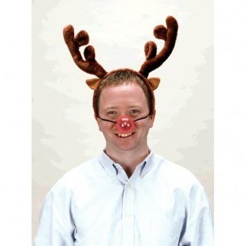 Light Up Reindeer Nose