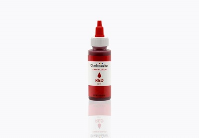 Chefmaster Candy Color 2 OZ Red