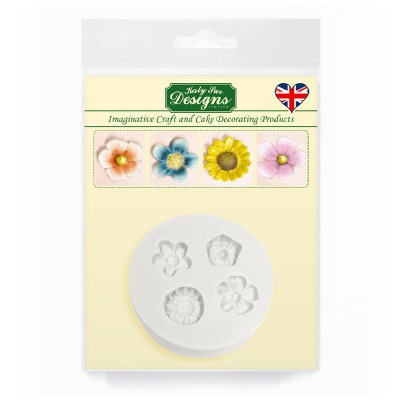 Little Flowers - Silicone Katy Sue Designs