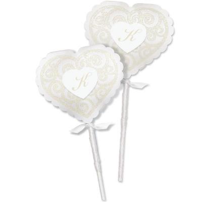 Lollipop Wrap Kit Heart 20 CT