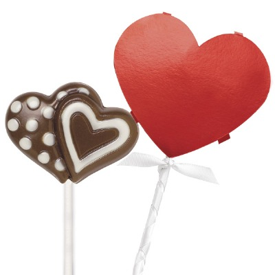 Lollipop Wrap Kit Heart 8 CT