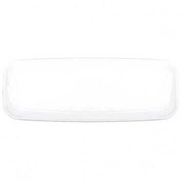 """Long Platter 6.5""""X17.5"""" White"""