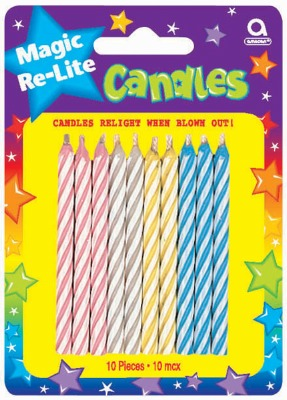 Magic Re-Light Candles 10 CT