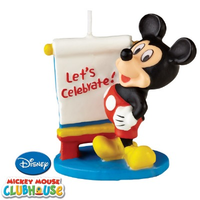Mickey Mouse Board Candle