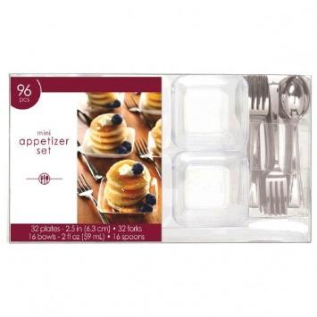 Mini Appetizer Set 96-PC