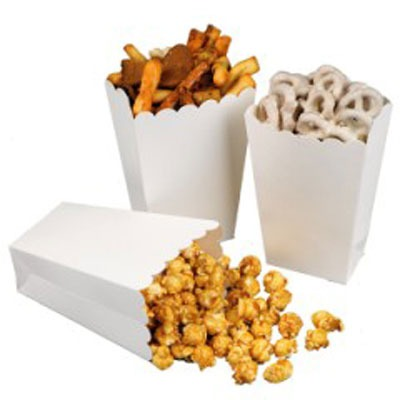 Mini Popcorn Boxes 4 ct.