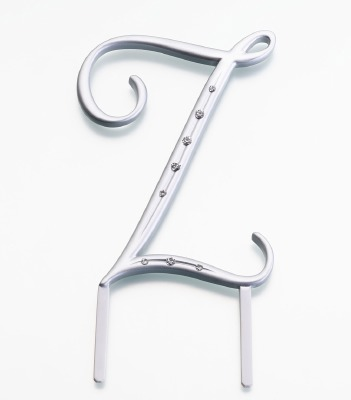 Monogram Silver Large Z