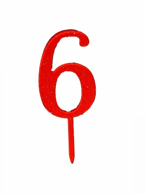 Number 6 Acrylic Red G CT