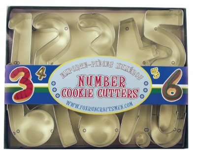 Number Cookie Cutter Set