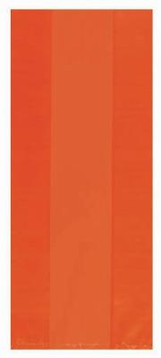 Orange Treat Bags Small 25 CT