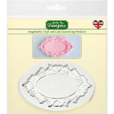 Oval Heart - Silicone Katy Sue Designs
