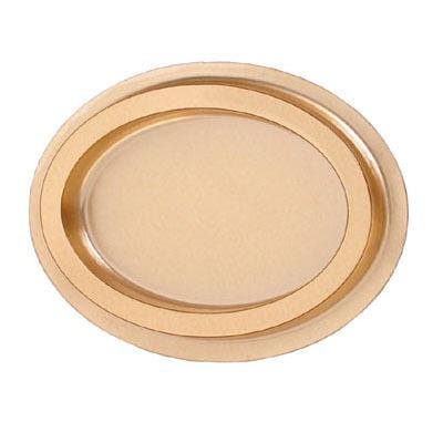 Oval Mint Jewel Box Gold