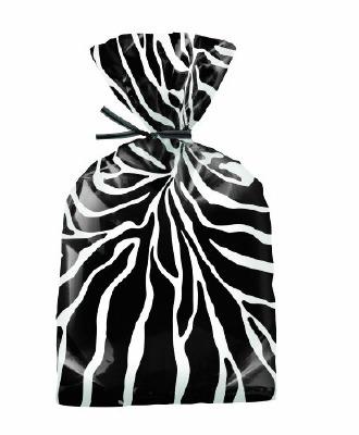 Party Bag Zebra 20 CT