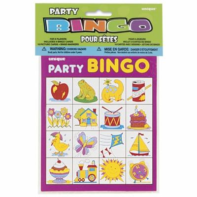 Party Bingo For 8