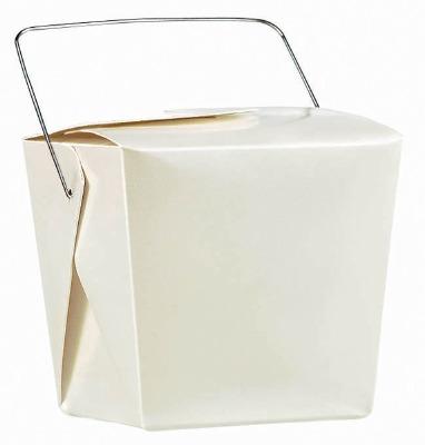 Pearl White Favor Pails 12 CT