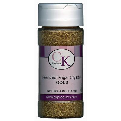 Pearlized Crystal Sugar-Gold