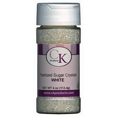 Pearlized Crystal Sugar-White