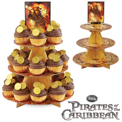 Pirates Caribbean Treat Stand