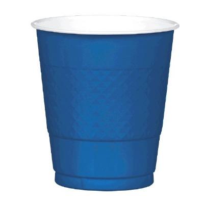 Plastic 12 OZ Cup 20 CT Navy Blue