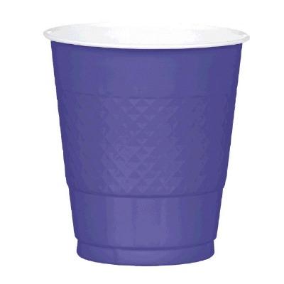Plastic 12 OZ Cup 20 CT Purple