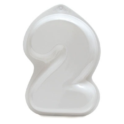 """Plastic Pan - Number """"2"""""""