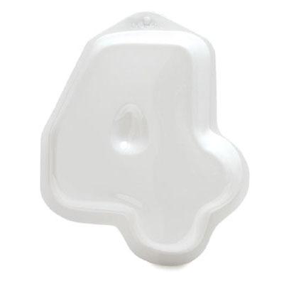 """Plastic Pan - Number """"4"""""""