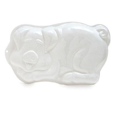 Plastic Cake Pan - Pig