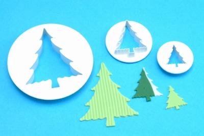 Christmas Tree Cutter Set of 3 Large - Medium - Small