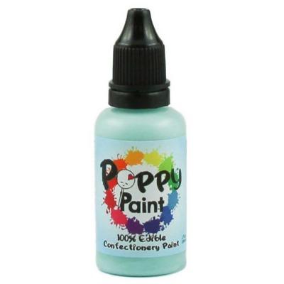 Seafoam Poppy Paint