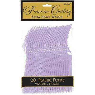 Premium Forks 24 CT Lavender