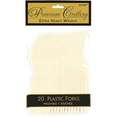 Premium Forks 24 CT Vanilla Creme
