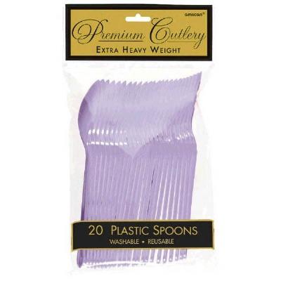 Premium Spoons 24 CT Lavender
