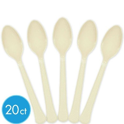 Premium Spoons 24 CT Vanilla Creme