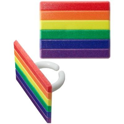 Pride Cupcake RIngs