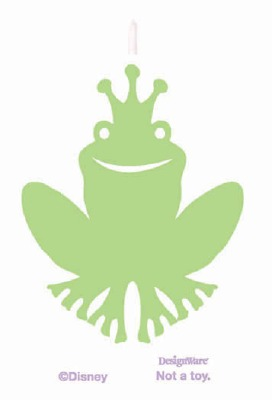 Princess & Frog Candles 4 CT