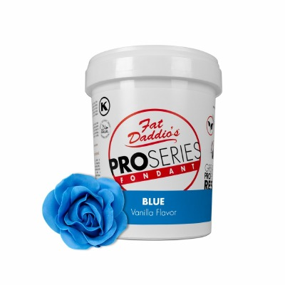 Fat Daddio's PRO Fondant Blue 2 Pounds