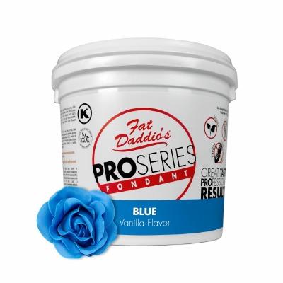 Fat Daddio's PRO Fondant Blue 5 Pounds