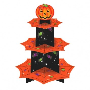 Pumpkin Cupcake Stand 1 CT
